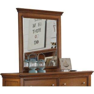 Read Reviews Dansby Wood Rectangular Dresser Mirror ByCharlton Home