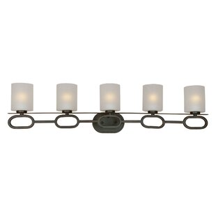 Affordable Mclawhorn 5-Light Vanity Light By Ebern Designs