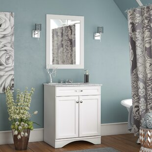Madi 30 Single Vanity Set with Mirror by Willa Arlo Interiors