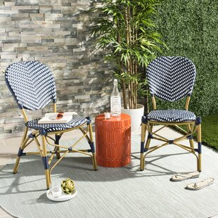 Lintgen French Stacking Patio Dining Chair (Set of 2)