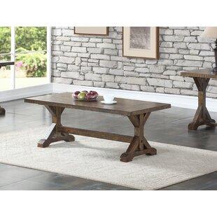 Xenia Trestle Coffee Table