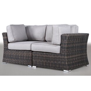 Huddleson Contemporary Loveseat with Cushion