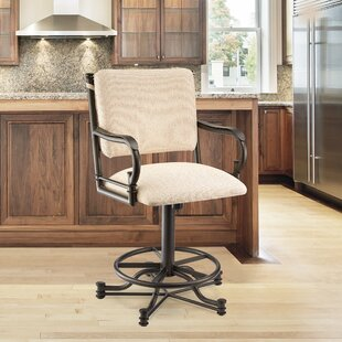 Durrah 26 Swivel Bar Stool by Darby Home Co