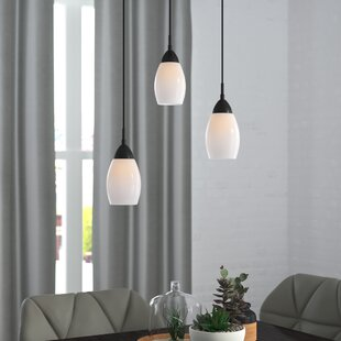 Murphy 3-Light Cluster Pendant by Ebern Designs
