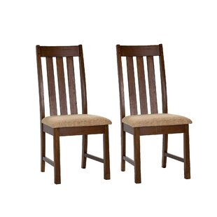 Loon Peak Riverbend Upholstered Dining Chair (Set of 2)