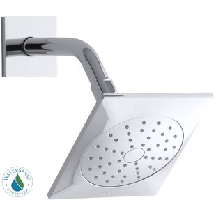 Great choice Loure 2.0 GPM Single-Function Showerhead with Katalyst Air-Induction Spray By Kohler