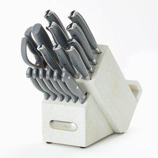17 Piece Knife Set with Storage
