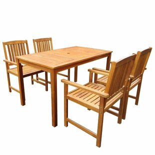 Evelina 4 Seater Dining Set By Sol 72 Outdoor
