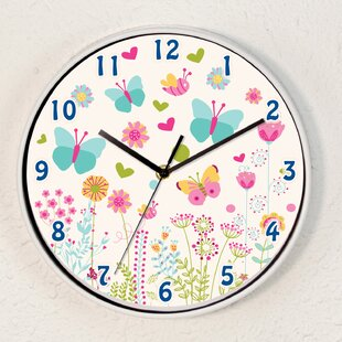 Darryl Summer Dream Children's 25cm Wall Clock by Viv   Rae