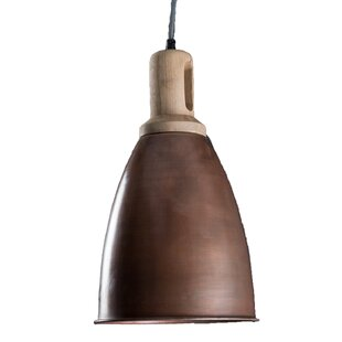 Gracie Oaks Veroniza 1-Light Dome Pendant