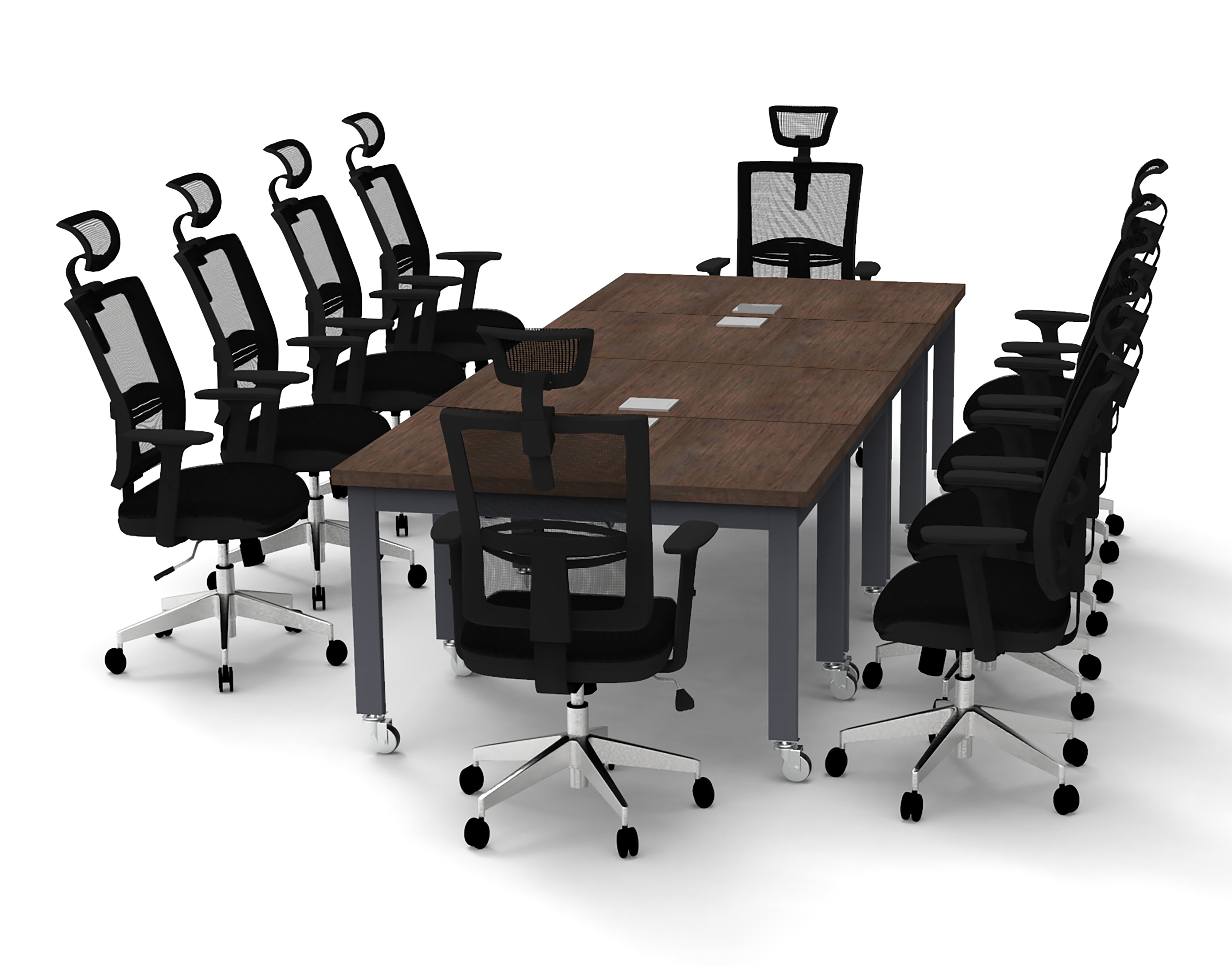 Domingo Rectangular Conference Table Set
