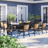 Curacao Traditional 9 Piece Dining Set