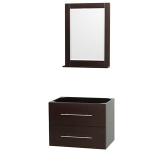 Centra 29 Single Bathroom Vanity Base Only by Wyndham Collection