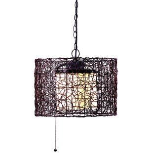 Price comparison Chianna 1-Light Outdoor Pendant By World Menagerie