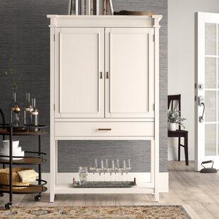 Birch Lane? Heritage Caseareo Fold-Out Bar Cabinet