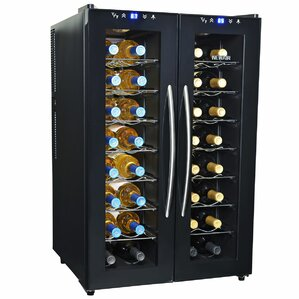 32 Bottle Dual Zone Freestanding Wine ..