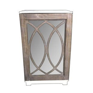Johanna 1 Door Accent Cabinet by Ophelia & Co.