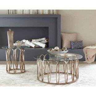 Mercer41 Shepard 2 Piece Coffee Table Set