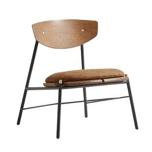 Henrik Genuine Leather Side Chair