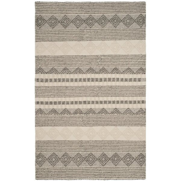 Billie Hand-Tufted Gray/Ivory Area Rug & Reviews