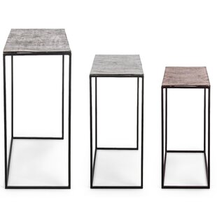 Gamble 3 Piece Console Table Set By Bloomsbury Market