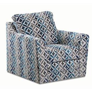 Morita Swivel Armchair by Latitude Run