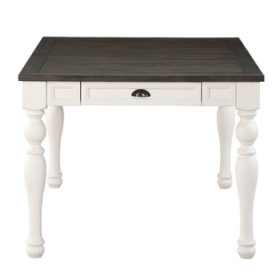 Jarett 2 Tone Dining Table by Charlton Home
