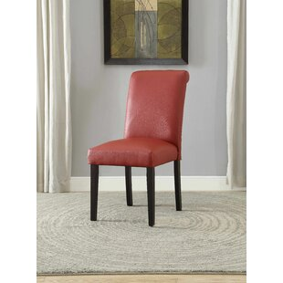 Bledsoe Upholstered Dining Chair (Set of 2) by Latitude Run