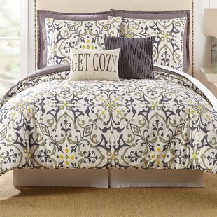 Madrid 7 Piece Comforter Set by Presidio Square Bargain