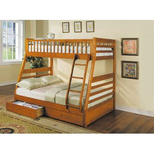 Dysart Twin Over Full Bunk Bed by Harriet Bee