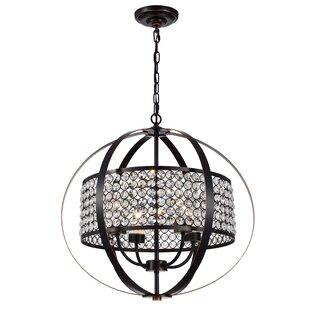 Ferdinand 4-Light Globe Chandelier