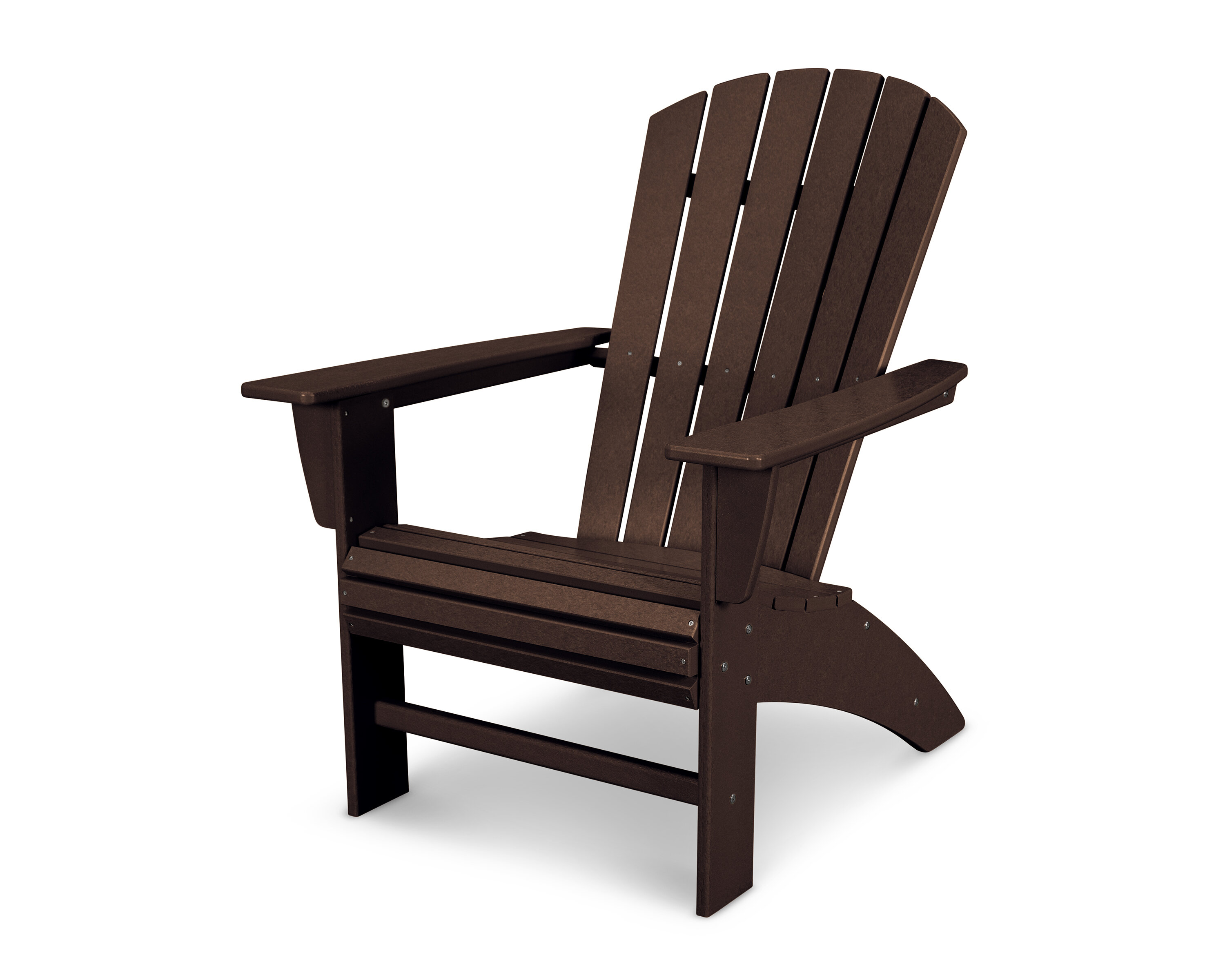 Picture of: Polywood Nautical Plastic Resin Adirondack Chair Reviews Wayfair