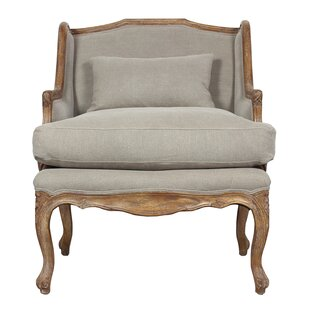 Elliot Wingback Chair by Sarreid Ltd