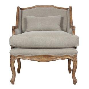 Elliot Wingback Chair by Sarreid Ltd