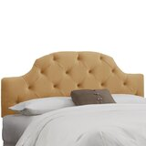 Bowhill Tufted King Upholstered Panel Headboard by Darby Home Co