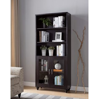 Alexandre Contemporary Standard Bookcase by Darby Home Co SKU:DD987790 Details