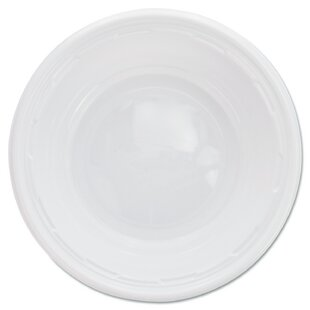 5-6 oz. Round Plastic Bowl (Pack of 125)