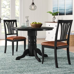 Langwater 3 Piece Dining Set Beachcrest Home