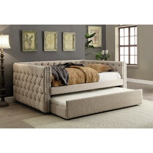 Zael Contemporary Daybed by Darby Home Co