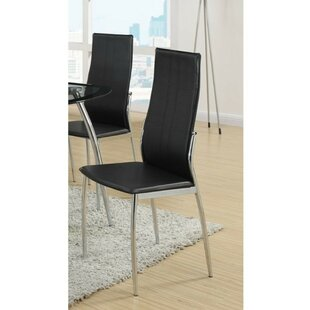 Ebern Designs Gangemi Upholstered Dining Chair (Set of 2)