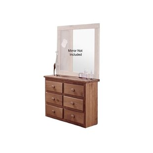 Buying Chong Mini 6 Drawer Dresser by Harriet Bee Reviews (2019) & Buyer's Guide