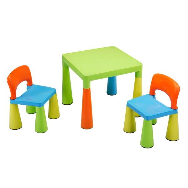 Roomie Kidz 3 Tlg Kinder Tisch Und Stuhl Set Conard