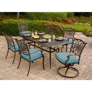 Darby Home Co Barrowman 7 Piece Dining Set