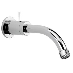 Jewel Faucets J16 Bath Series Single Hole Wall Mount Bathroom Faucet with Control on the Spout