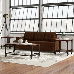 Hobart 3 Piece Coffee Table Set
