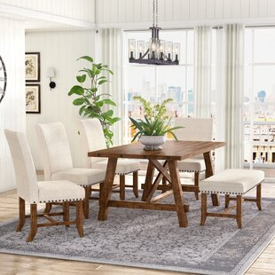 Montcerf 6 Piece Dining Set Laurel Foundry Modern Farmhouse