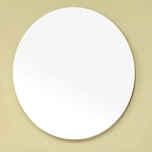 Reviews Round Wall Mirror By Bellaterra Home