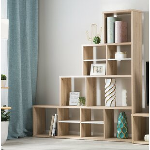 Villafane Step Bookcase by Wrought Studio