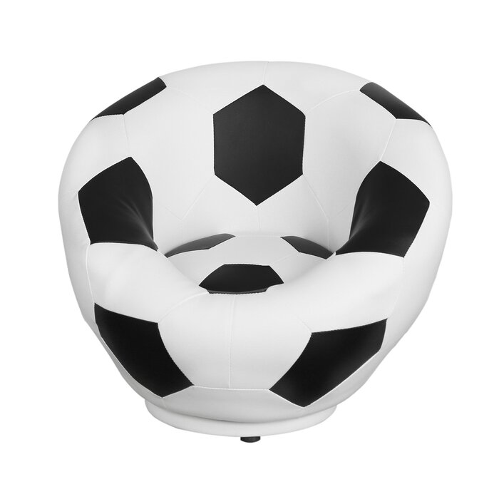 Phenomenal Soccer Ball Kids Swivel Chair Ocoug Best Dining Table And Chair Ideas Images Ocougorg
