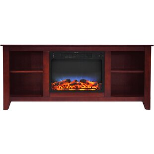 Alcott Hill Brook Hollow TV Stand for TVs with Fireplace